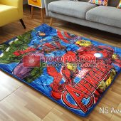 Karpet Selimut New Seasons Karakter NS Avengers