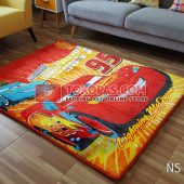 Karpet Selimut New Seasons Karakter NS Cars