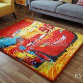 Karpet Selimut New Seasons Karakter NS Cars