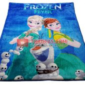 Karpet Selimut New Seasons Karakter NS Frozen Fever
