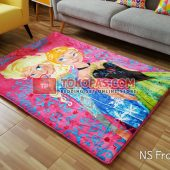 Karpet Selimut New Seasons Karakter NS Frozen Pink