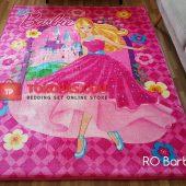 Karpet Selimut Karakter Rosanna RO Barbie Flower
