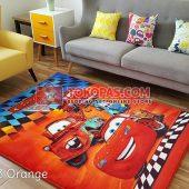 Karpet Selimut Karakter Rosanna RO Cars3 Orange