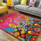 Karpet Selimut Karakter Rosanna RO Eifel Pink