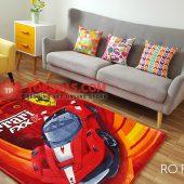 Karpet Selimut Karakter Rosanna RO Ferrari FX