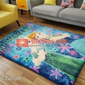Karpet Selimut Karakter Rosanna RO Frozen Jungle