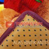 Karpet Selimut Alas Bintik Anti Slip