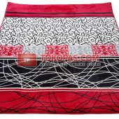 Karpet Selimut Lucky LY Abstrak Merah