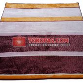 Karpet Selimut Lucky LY Brown Line