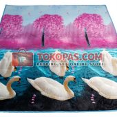 Karpet Selimut MC Princess Swan