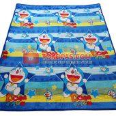 Karpet Selimut Bulu Lembut Murah Junior JN Doraemon Star