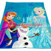 Karpet Karakter Selimut NP Frozen Movie