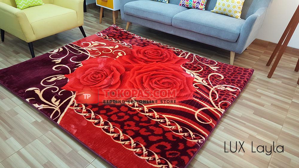 Karpet Selimut Rosanna Jumbo LUX Layla