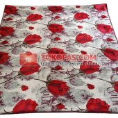 Karpet Selimut Bulu Lembut SS Winter Rose