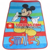 Karpet Selimut Mini Mickey Smile