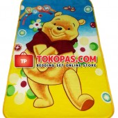 Karpet Selimut Mini Pooh Malu