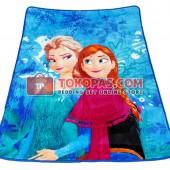 Karpet Selimut LY GK001 Frozen Biru