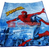 Karpet Selimut Karakter LY GK007 Spiderman Jaring