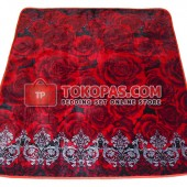 Karpet Selimut LA Red Rose
