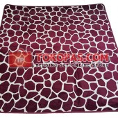 Karpet Selimut LY D012 Red Stone