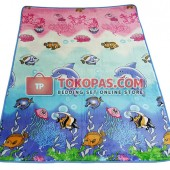 Karpet Selimut LY K017 Sea World