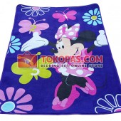 Karpet Selimut MD Happy Minnie