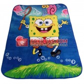 Karpet Selimut MD Spongebob Jala