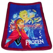 Karpet Selimut Mini Frozen Biru