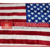 Karpet Selimut NS Bendera Amerika
