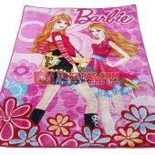 Karpet Selimut Rosanna RO Barbie Guitar