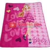 Karpet Selimut RO Barbie Love