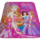 Karpet Selimut RO Barbie Party