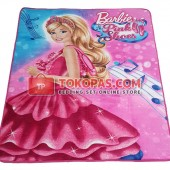 Karpet Selimut RO Barbie Pink Shoes