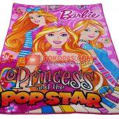 Karpet Selimut Rosanna RO Barbie Popstar