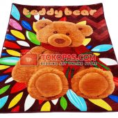 Karpet Selimut Karakter RO Crystal Bear