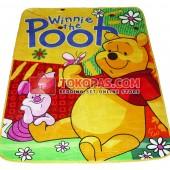 Karpet Selimut RO Pooh Piglet