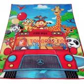 Karpet Selimut RO Zoo Bus