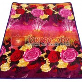 Karpet Selimut SE Forest Rose