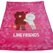 Karpet Selimut SE Line Friends