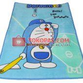 Karpet Selimut Mini Doraemon Baseball