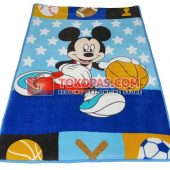 Karpet Selimut Mini Mickey Basket