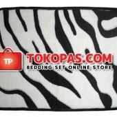Keset Selimut Zebra