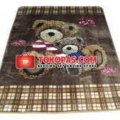 Karpet Selimut NS Bear Love