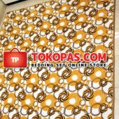 Karpet Selimut NS Yellow Planet