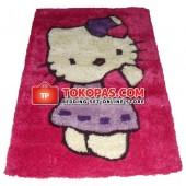 Karpet Shaggy HK. Pink