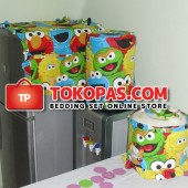 Sarung Galon Kulkas Magiccom Elmo Family