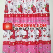 Gorden Kartun Karakter HK. Strawberry Pink