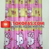 Gorden Kartun Karakter Sweet Kitty Pink