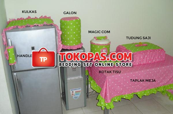 Contoh Sarung Galon Kulkas Magiccom Homeset