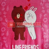Selimut Line Friends
